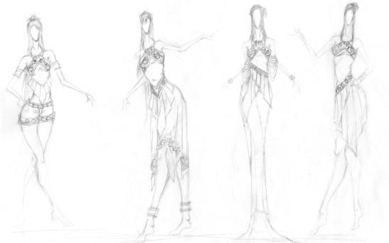 成都手绘培训-服装设计(一)
