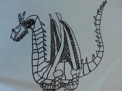 可爱的龙怎么画