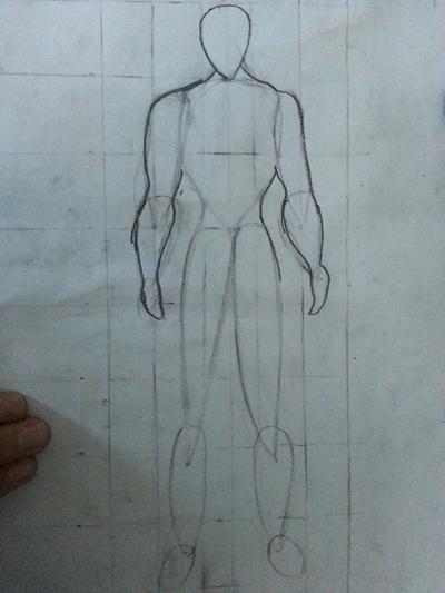 水滴素描图片步骤图