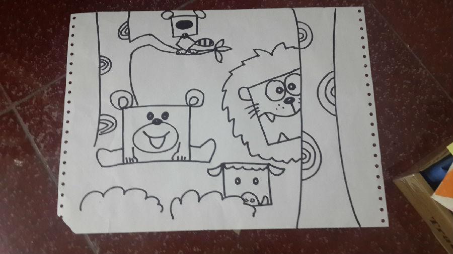 动物趣味简笔画 - 成都美术培训