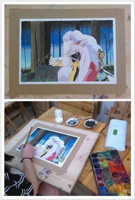 成都手绘培训——日系漫画水彩
