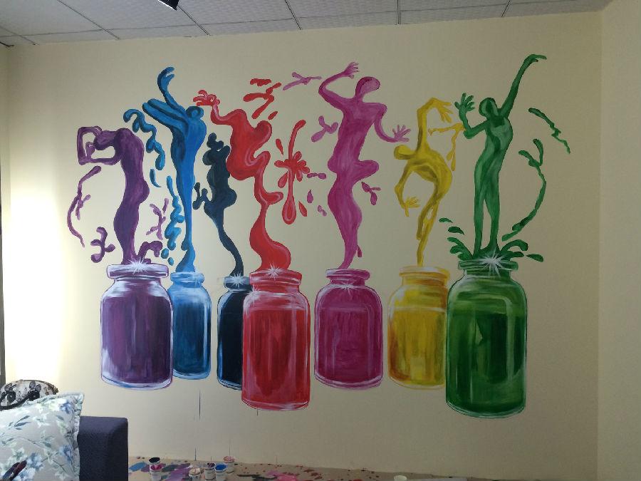 手绘墙画培训学校