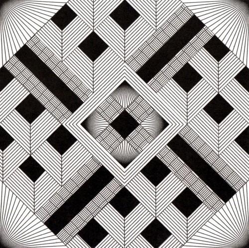 如何在视觉设计中运用平面构成(2)——线